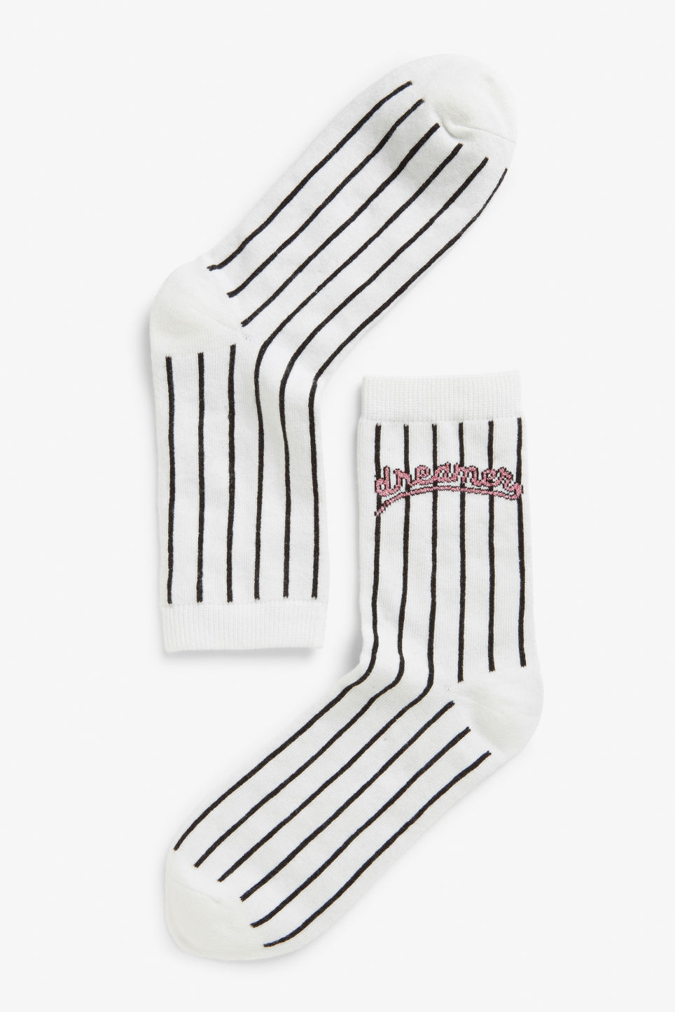 Front image of Monki dream socks in pink