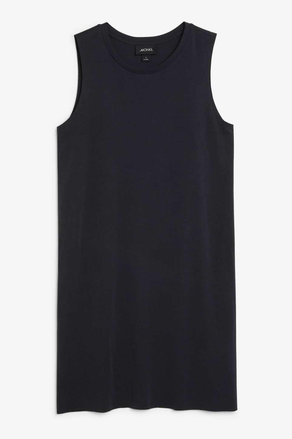 Front image of Monki super-soft in black