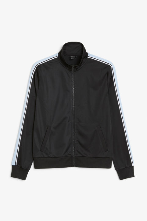 Zip tracksuit jacket