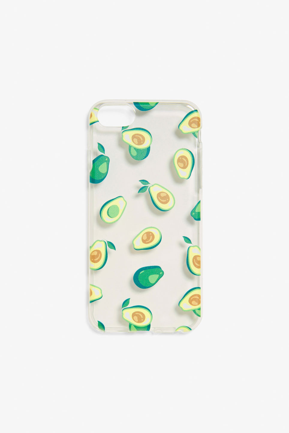 Front image of Monki monki phone case  in green