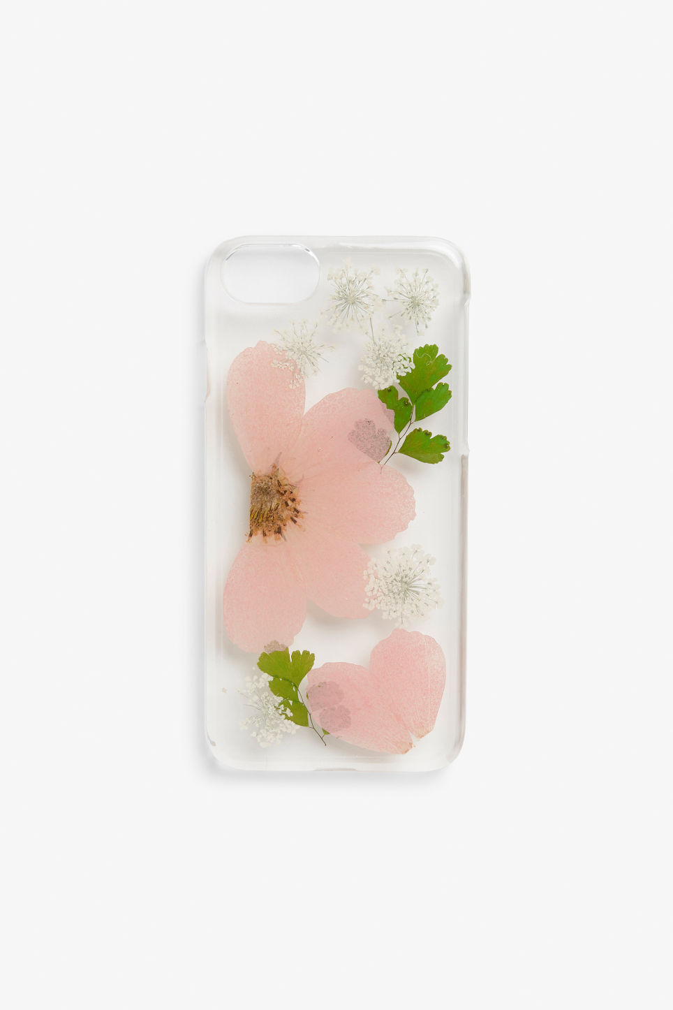 Front image of Monki monki phone case  in pink
