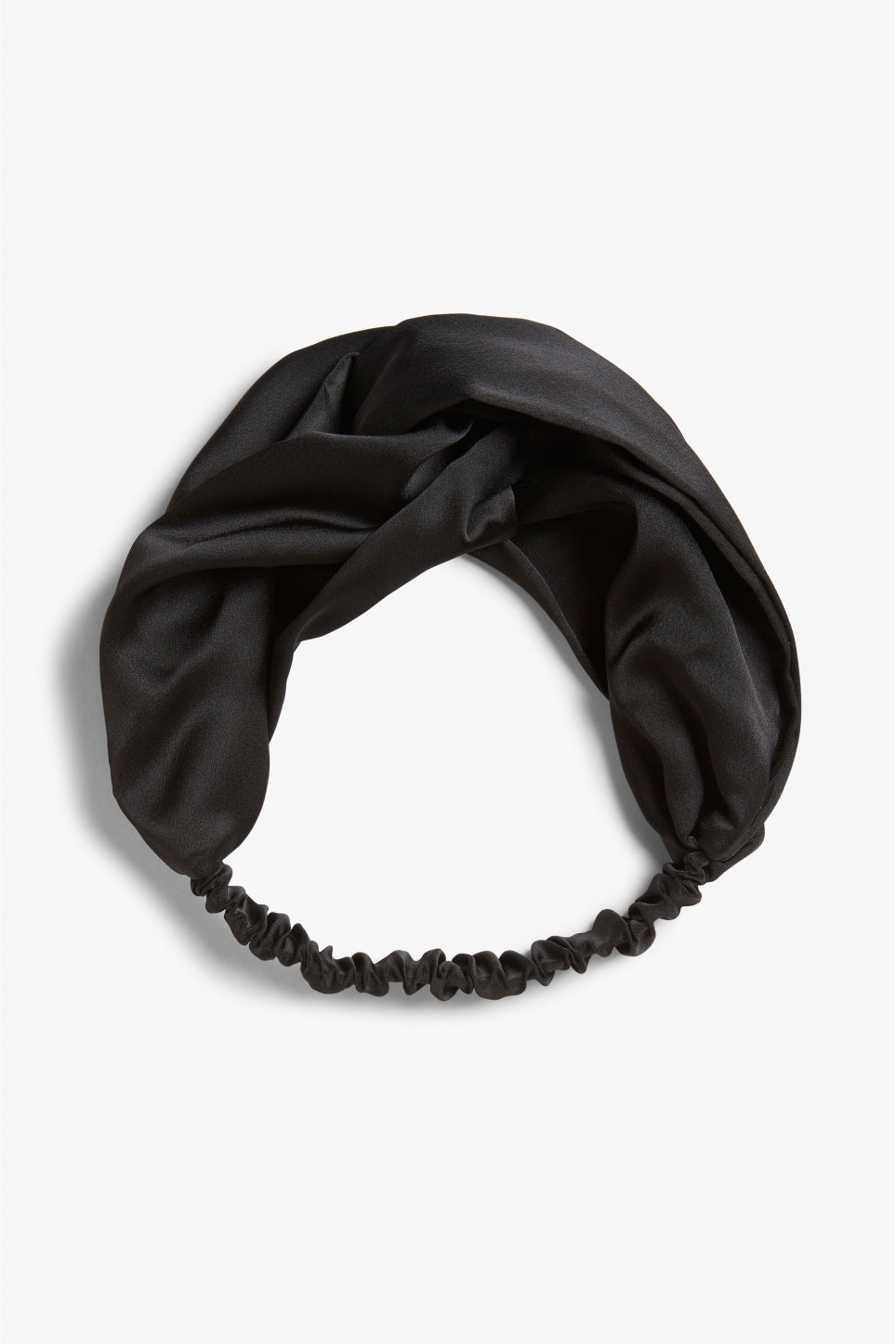 Front image of Monki monki headband in black