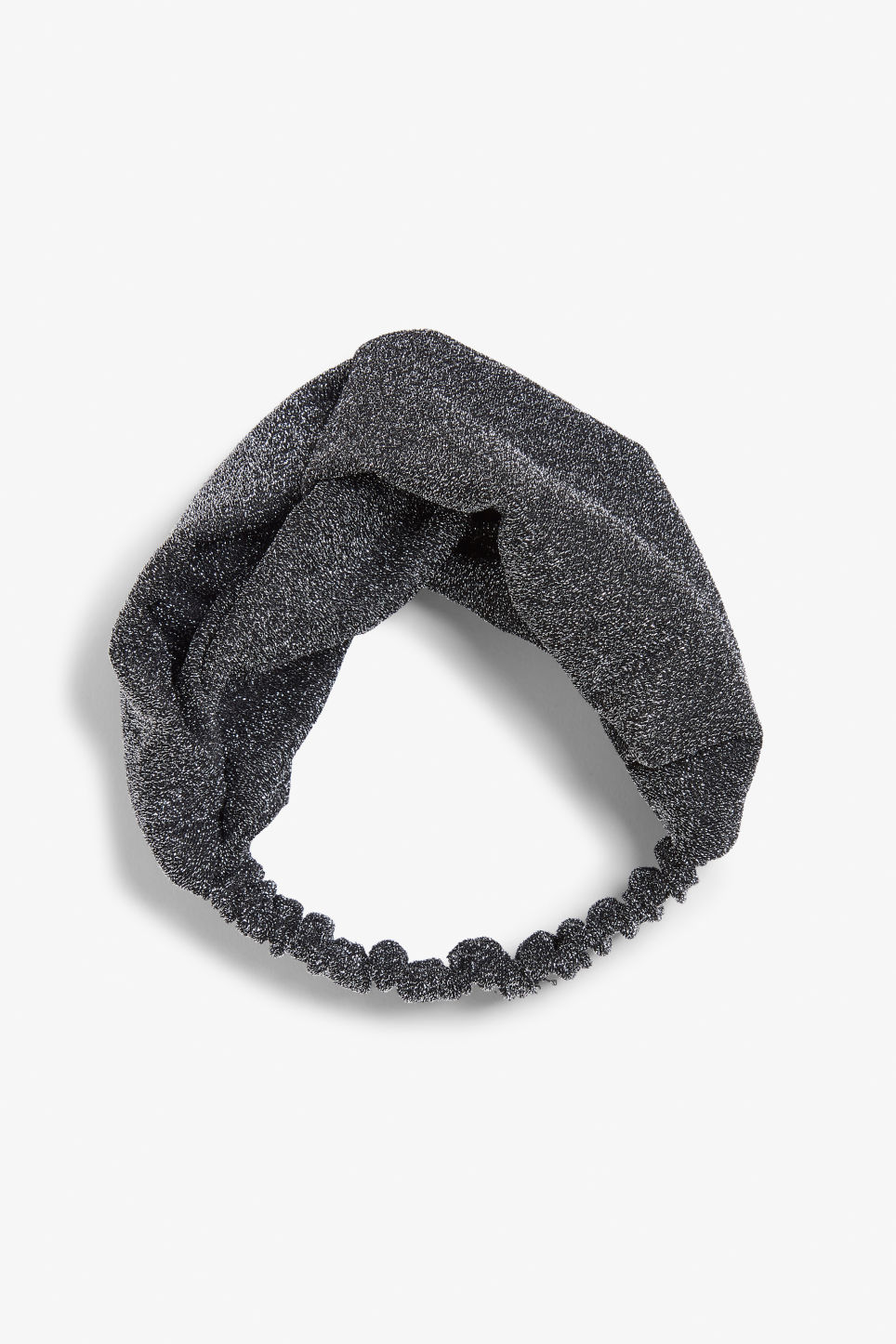 Front image of Monki monki headband in silver