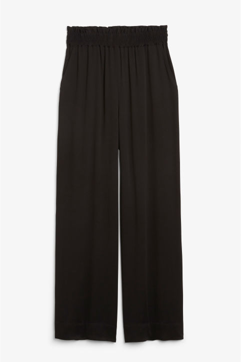 Luxe viscose trousers