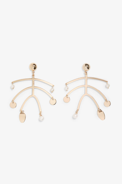 Irregular earrings