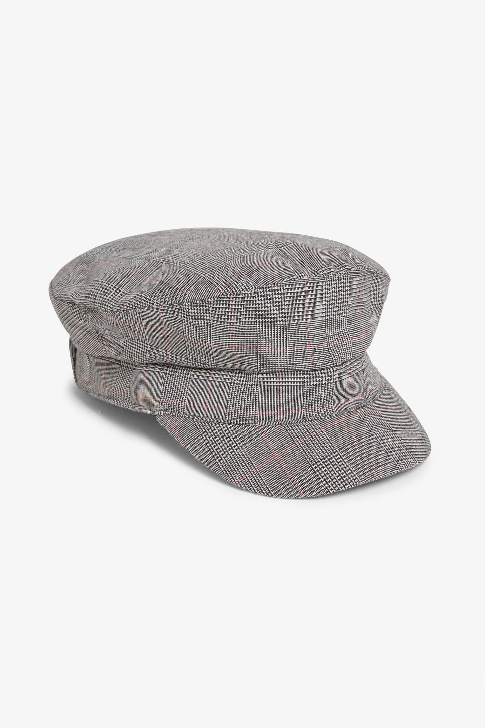 Baker boy cap - Checked to perfection - Hats df4558c8589