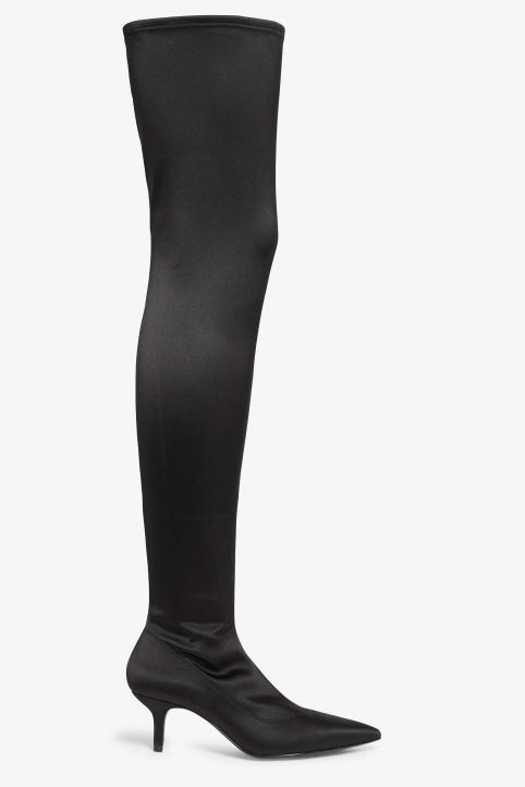 Stretch over the knee boots