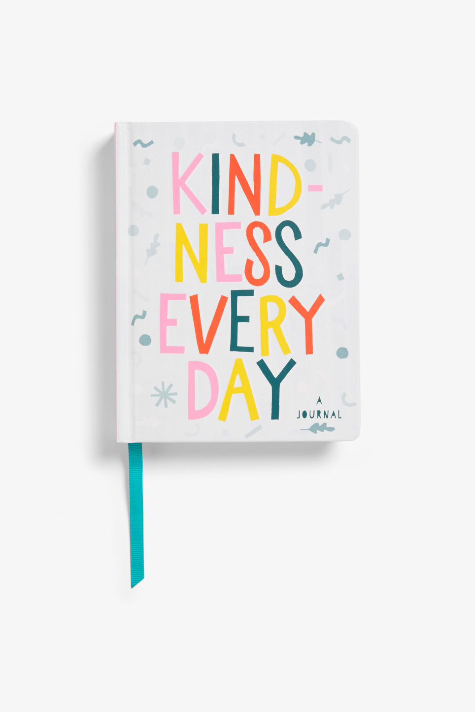 Front image of Monki kindness journal in white