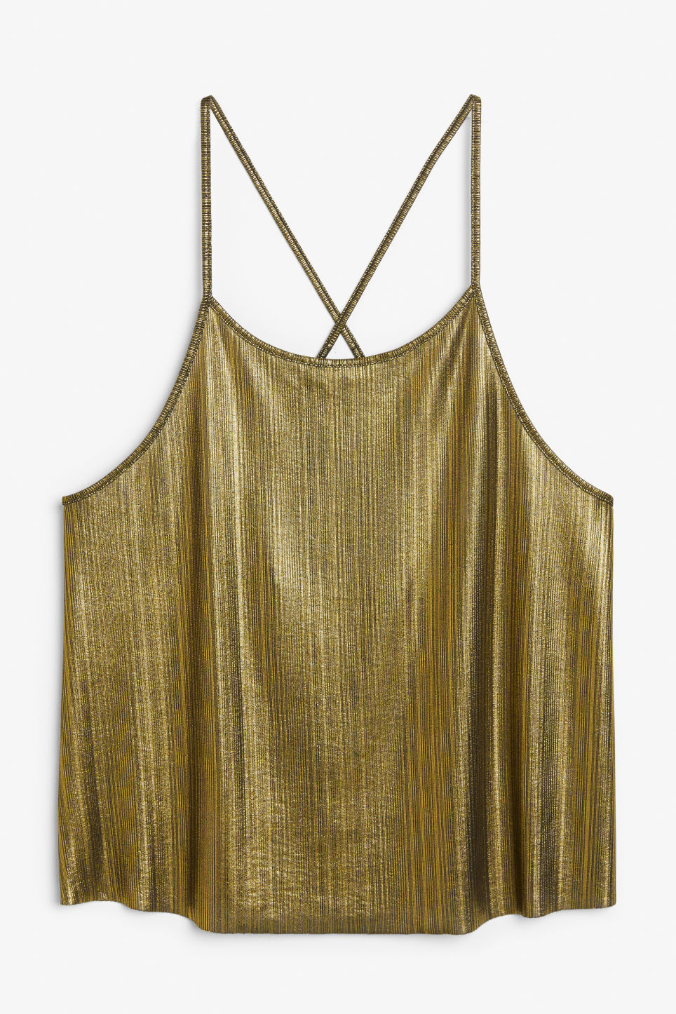 Front image of Monki  in gold