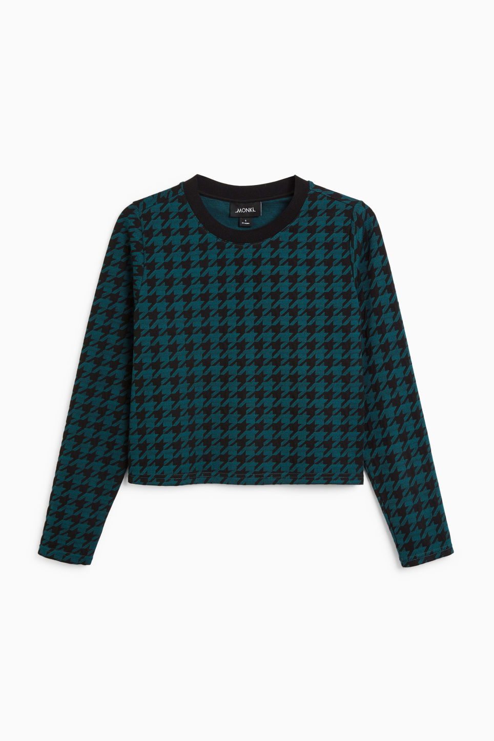 Front image of Monki wide fit top in green