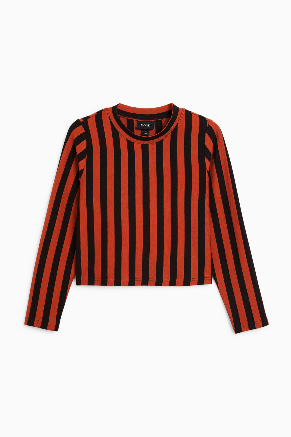 Front image of Monki wide fit top in orange
