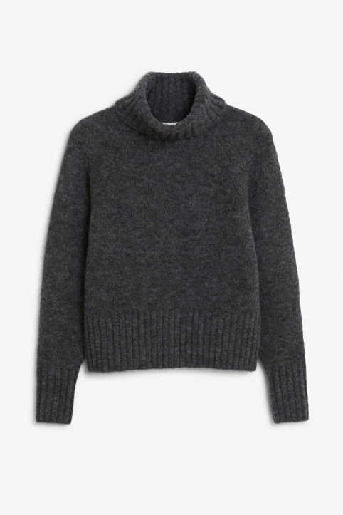 Front image of Monki  in grey