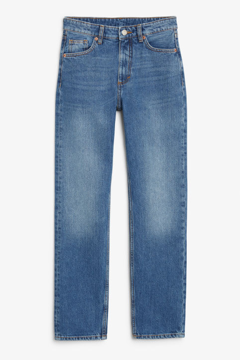 Moluna mid blue x-long jeans