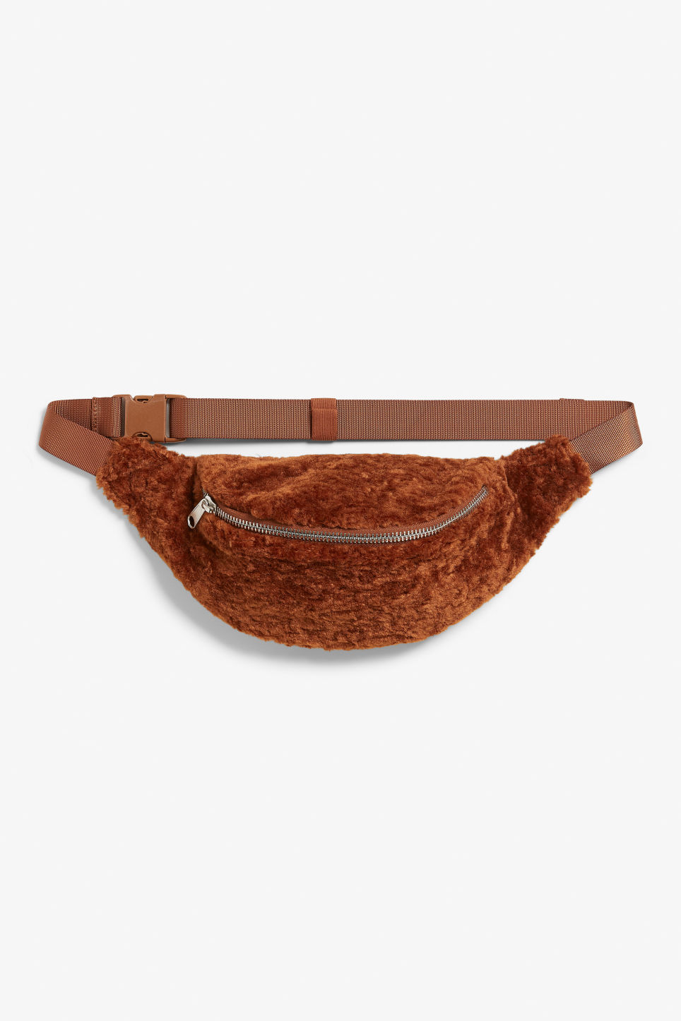 Front image of Monki fanny pack in orange