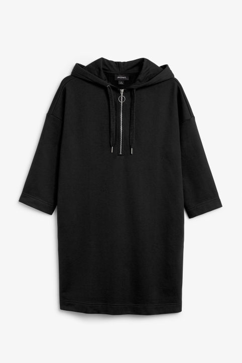 Long hoodie dress