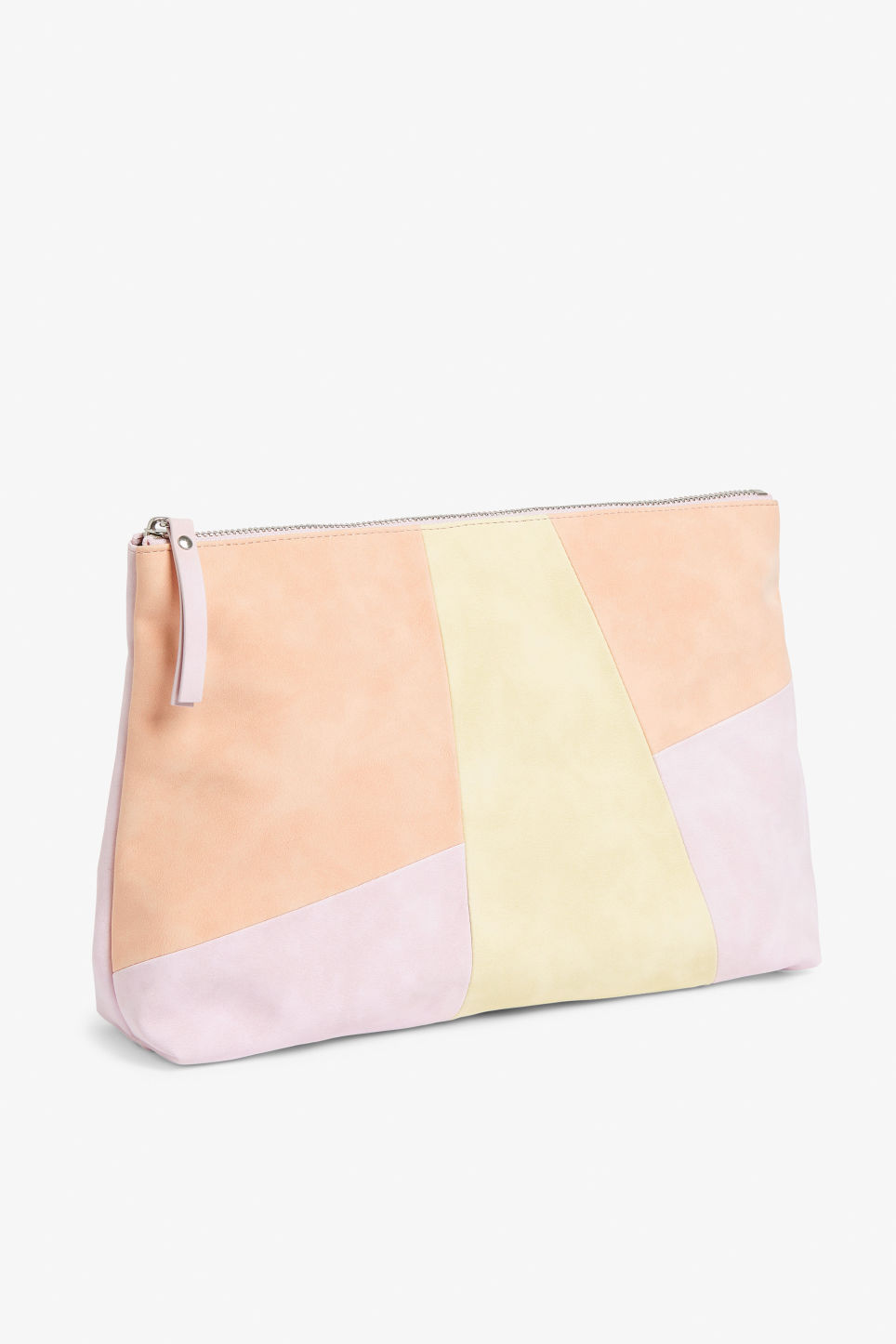 Front image of Monki toilet bag in pink