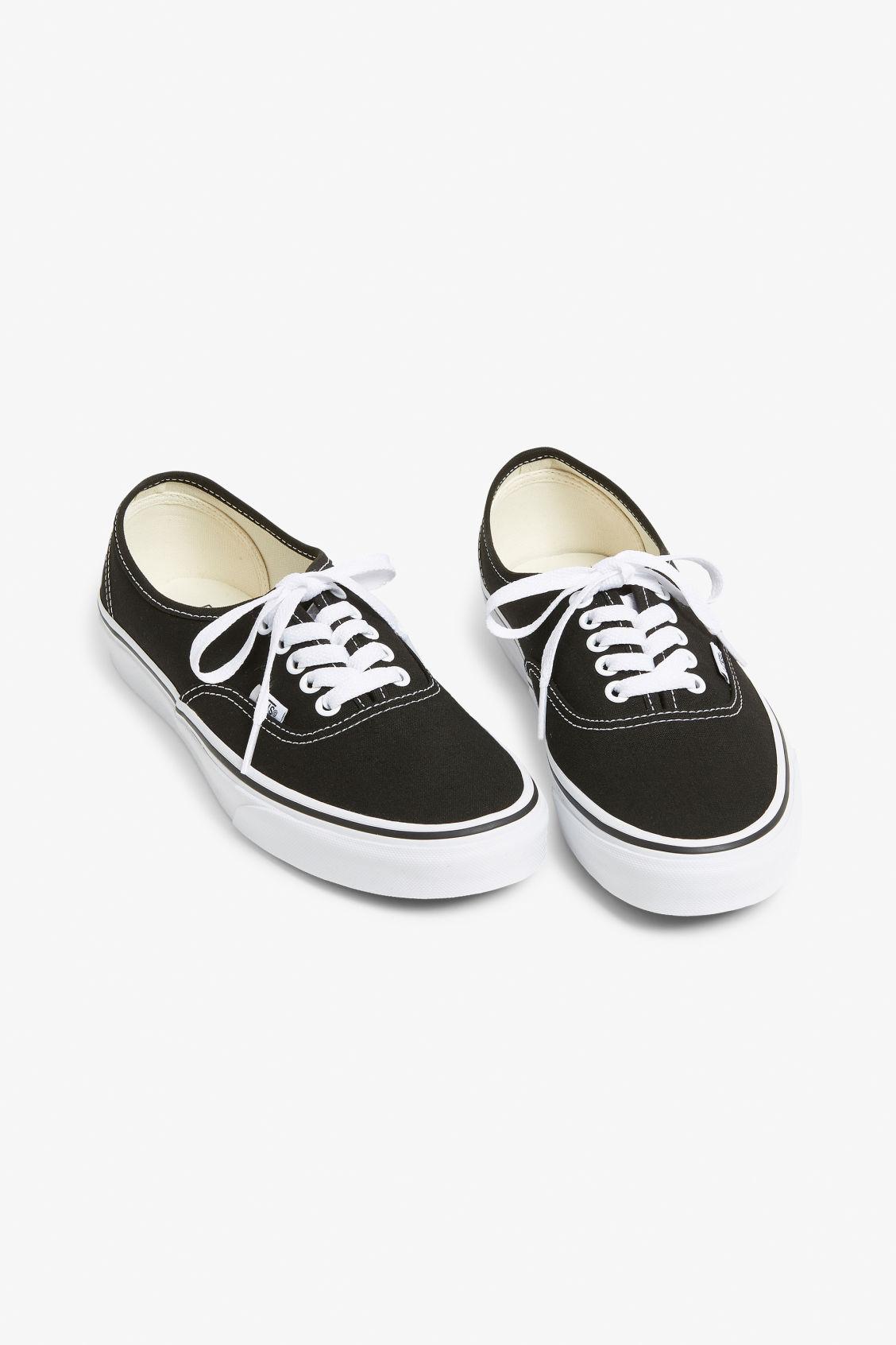 416ef4d7ba Vans authentic - Black and white - Shoes - Monki