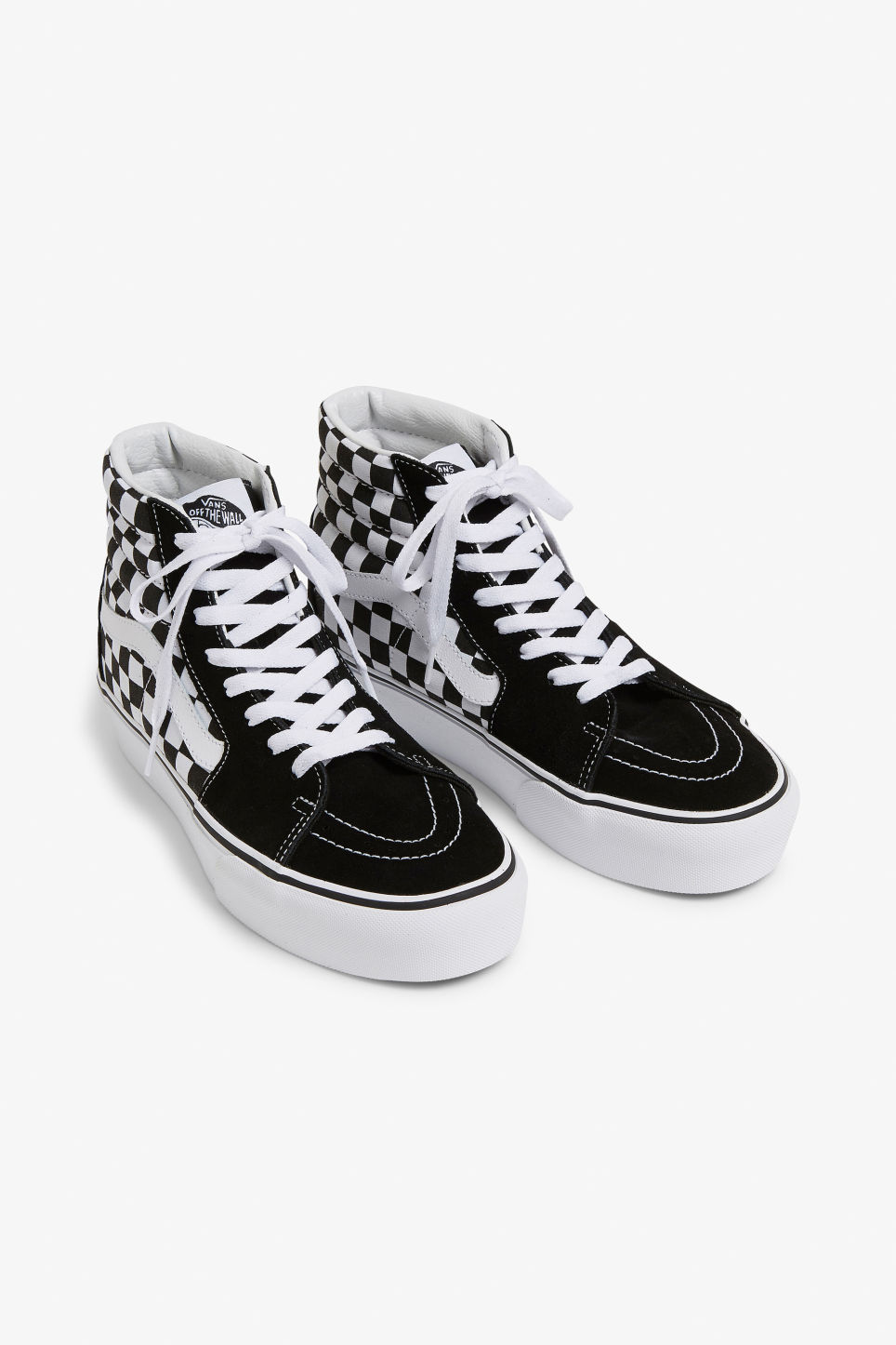 5f772689dd Vans SK8-HI platform 2.0 - Checkered - Shoes - Monki