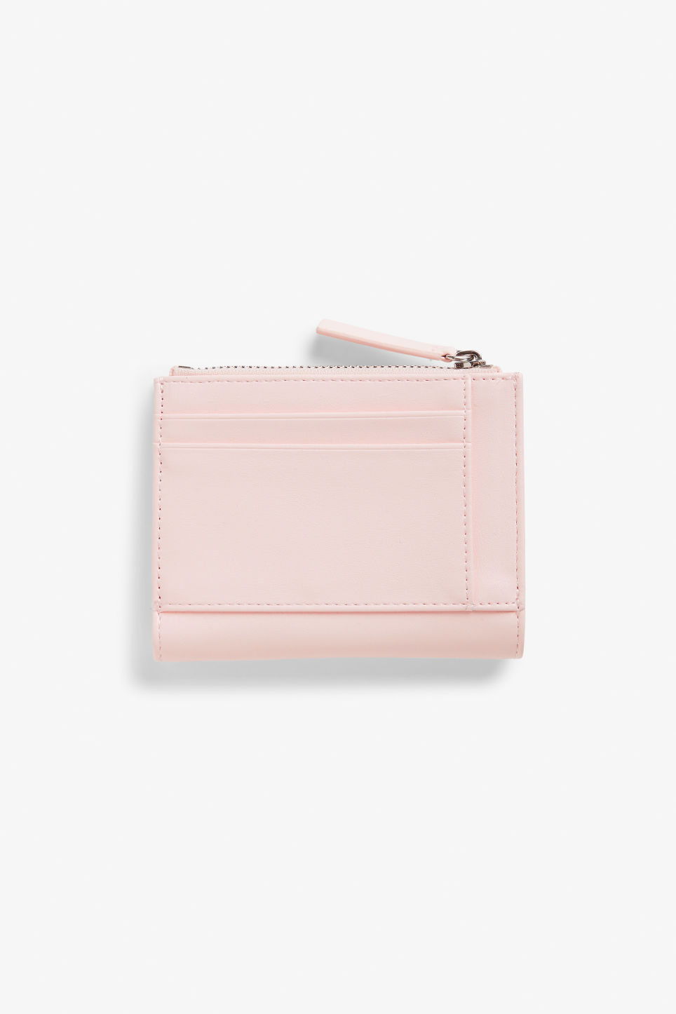 Front image of Monki handy wallet in pink