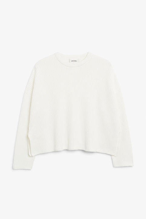 12846d9d6 Ribbed oversized sweater Ribbed oversized sweater
