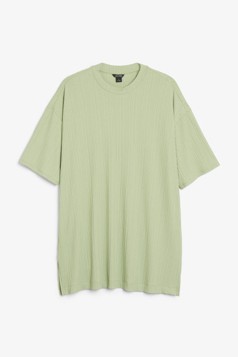 Front image of Monki  in green