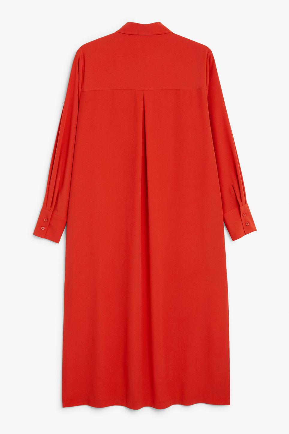 Back image of Monki  in red