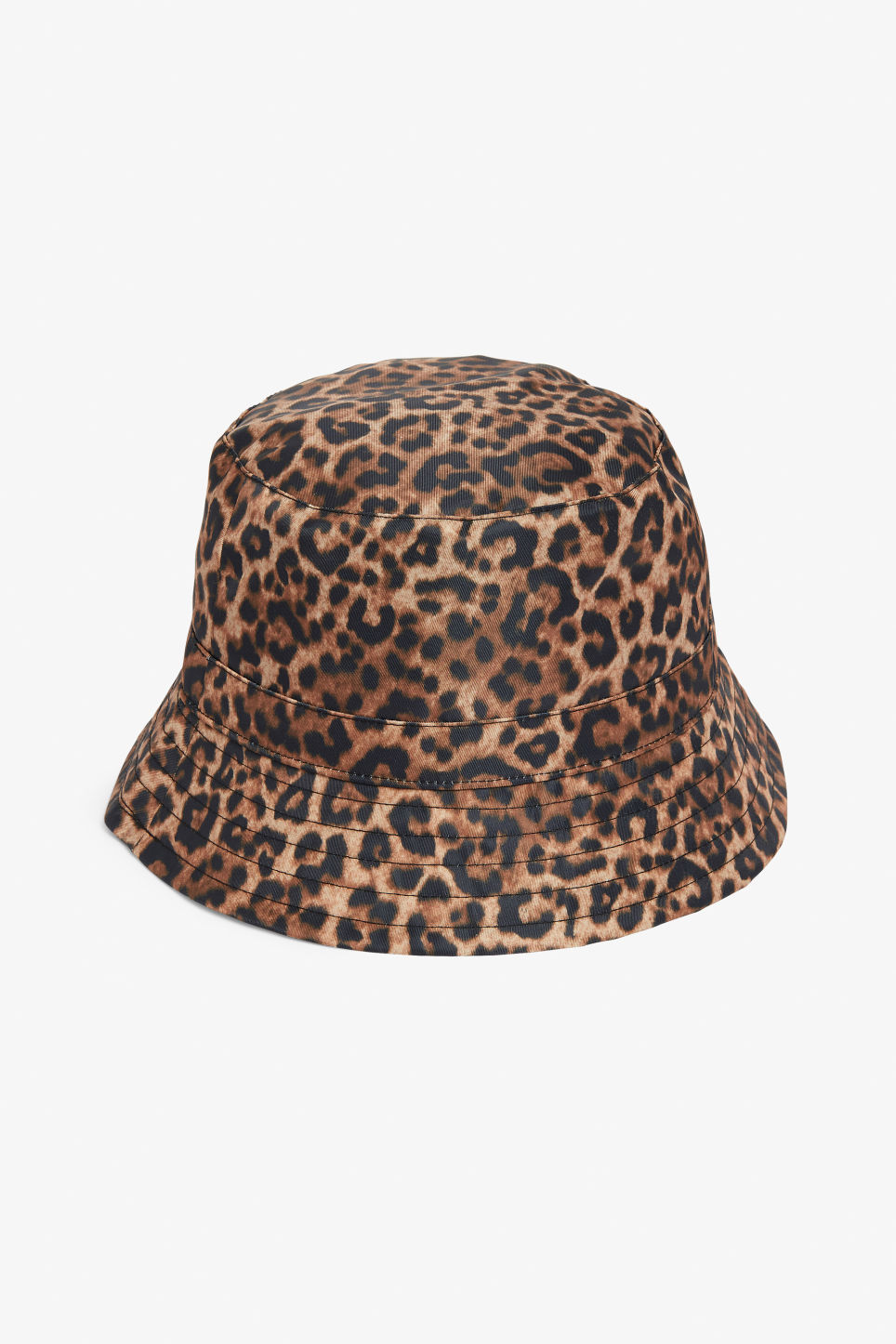 Front image of Monki bucket hat in beige 7c4d19c38751