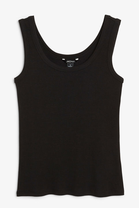 Classic ribbed singlet