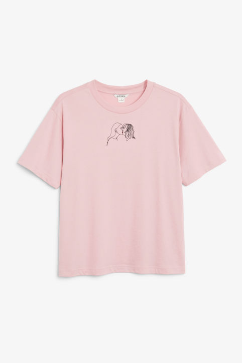 Embroidered LOVE tee