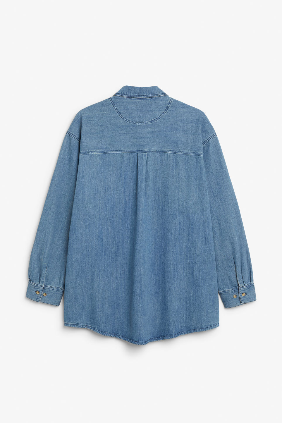 Back image of Monki  in blue