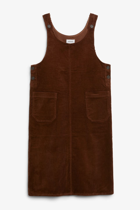 Corduroy utility dress