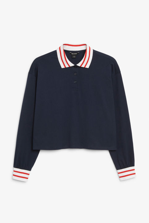 Front image of Monki  in blue