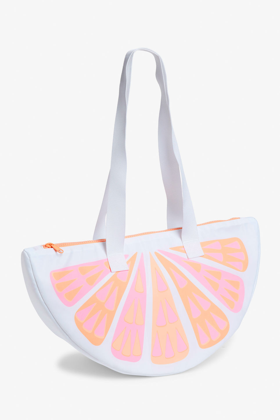 Front image of Monki cooler bag in orange