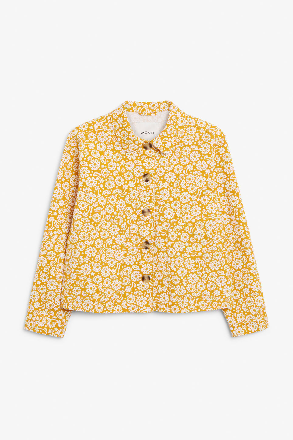 Front image of Monki  in yellow