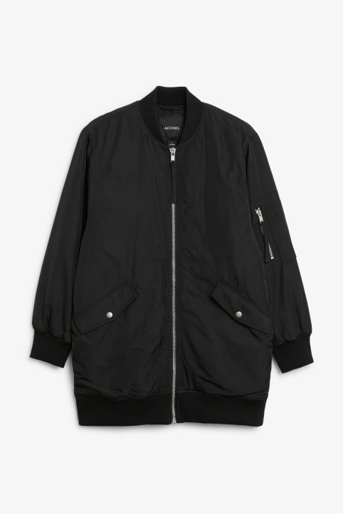 Bomber jackets - Coats   jackets - Clothing - Monki debd040b0fde2