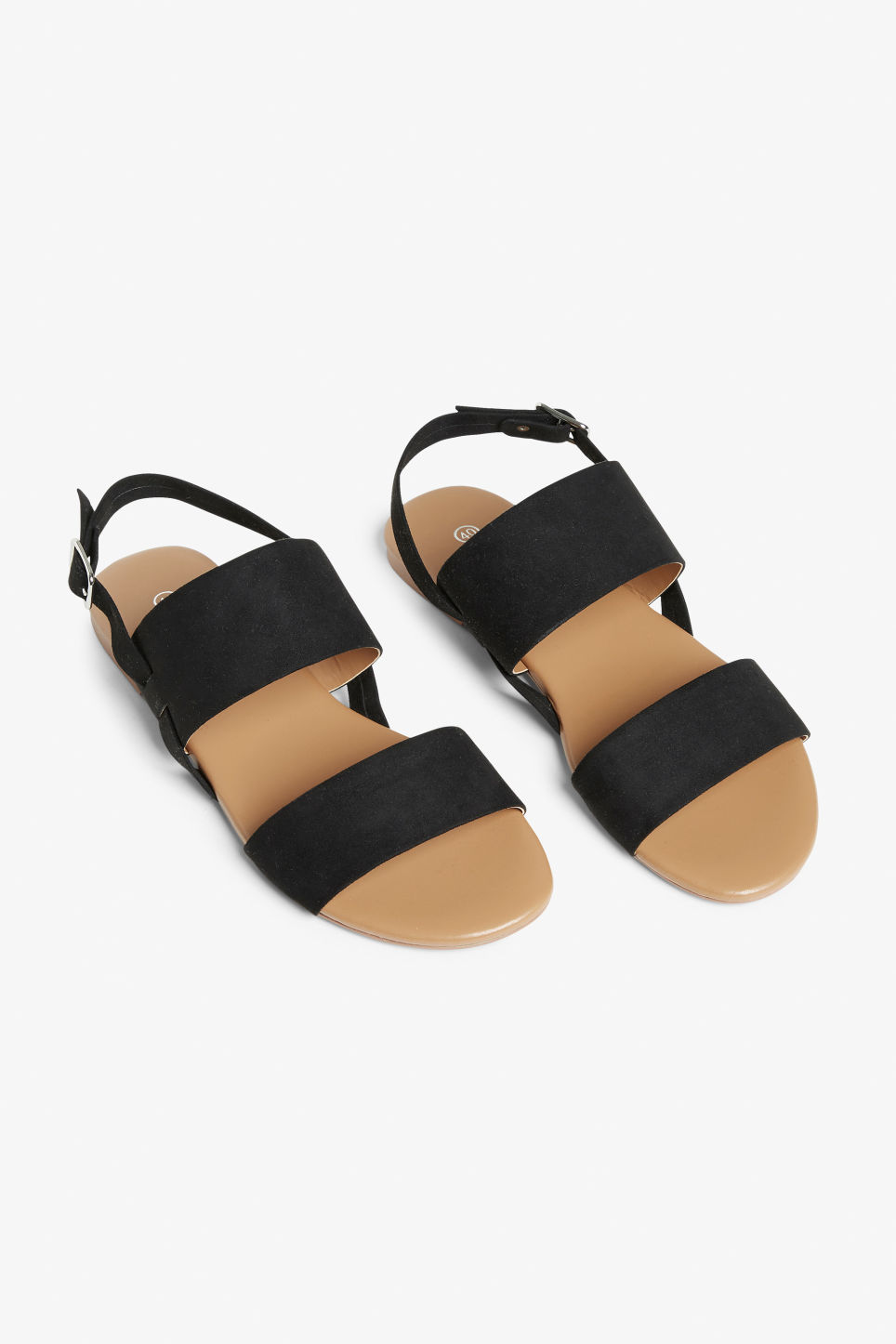 Flat sandals Black magic Shoes Monki