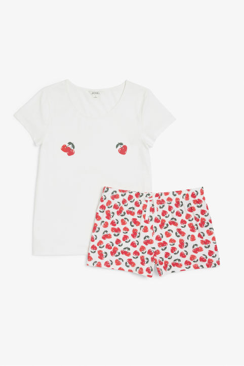 Cherry PJ set