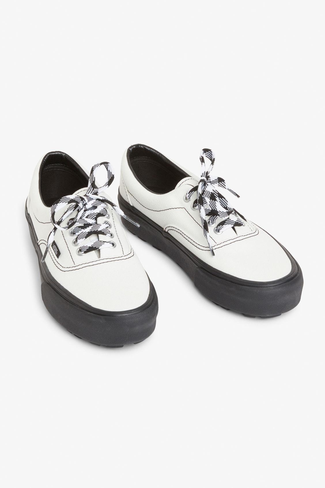 cf3a44ea21aa Vans era 90s platforms - Cloud dancer - Shoes - Monki