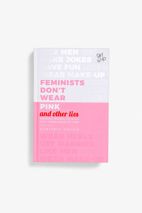 Front image of Monki feminists don't wear pink in pink