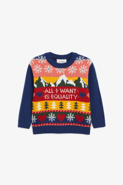 Kids holiday sweater