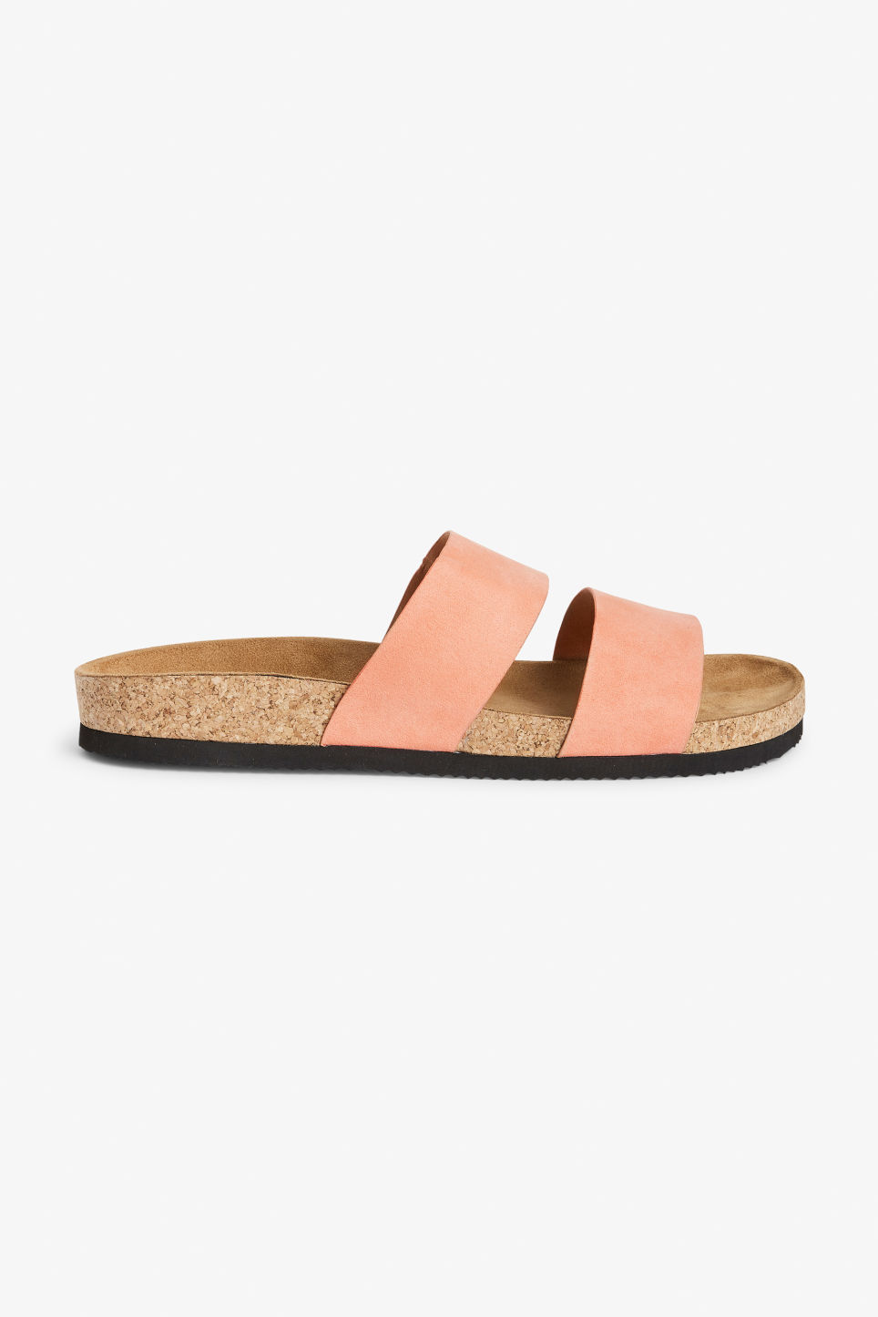 Detailed image of Monki flat sandals in pink