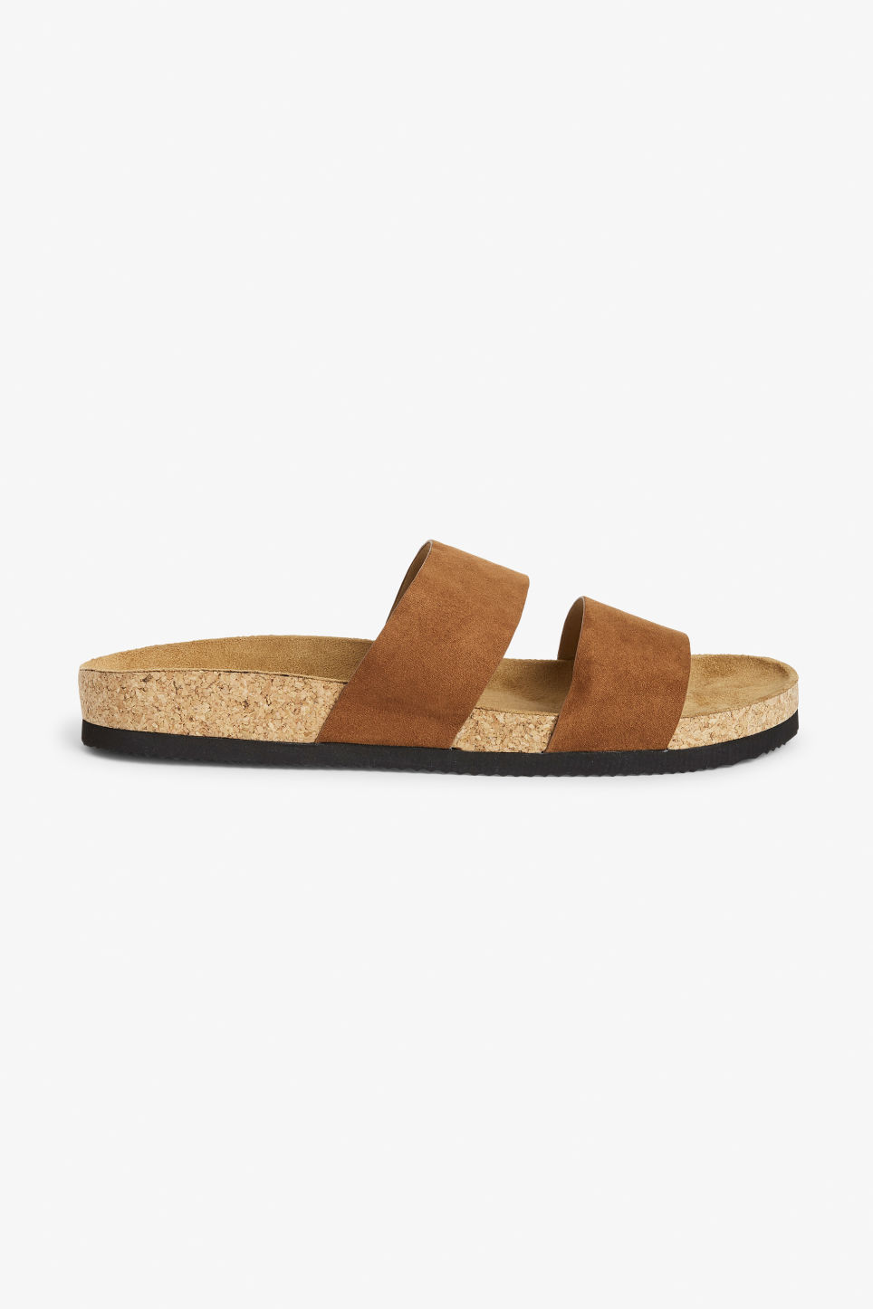 Detailed image of Monki flat sandals in beige