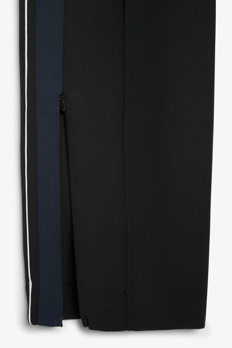Detailed image of Monki sporty trousers in black