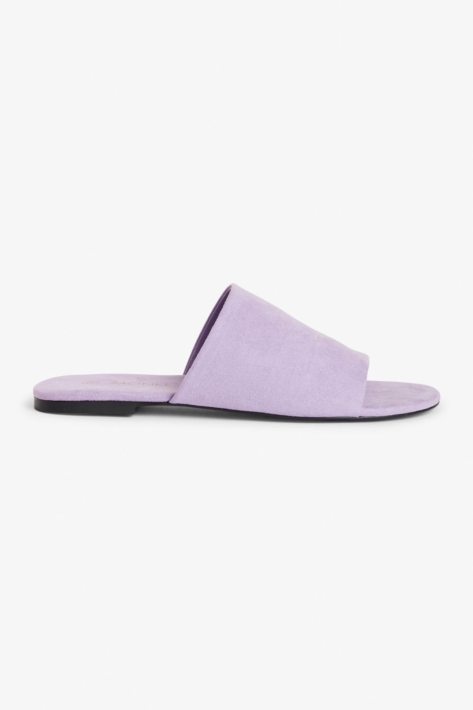 Detailed image of Monki slippers in pink
