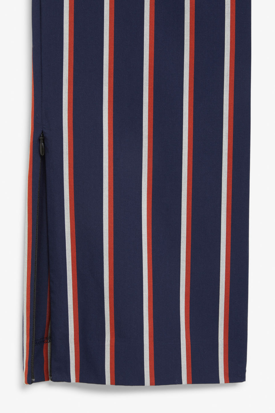 Detailed image of Monki dressy trousers in blue