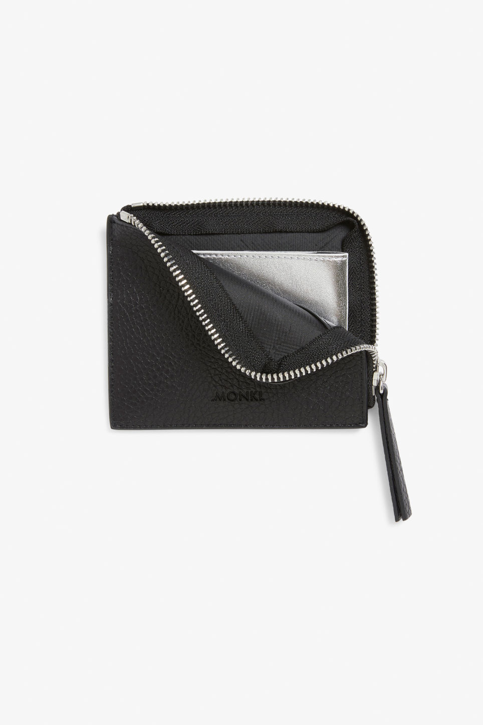 Detailed image of Monki card case in black