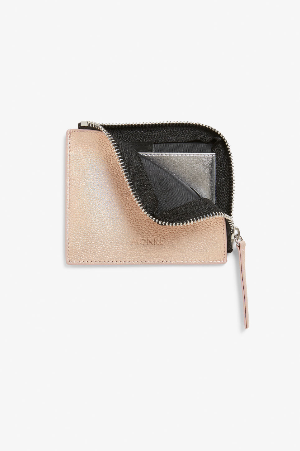 Detailed image of Monki card case in brown