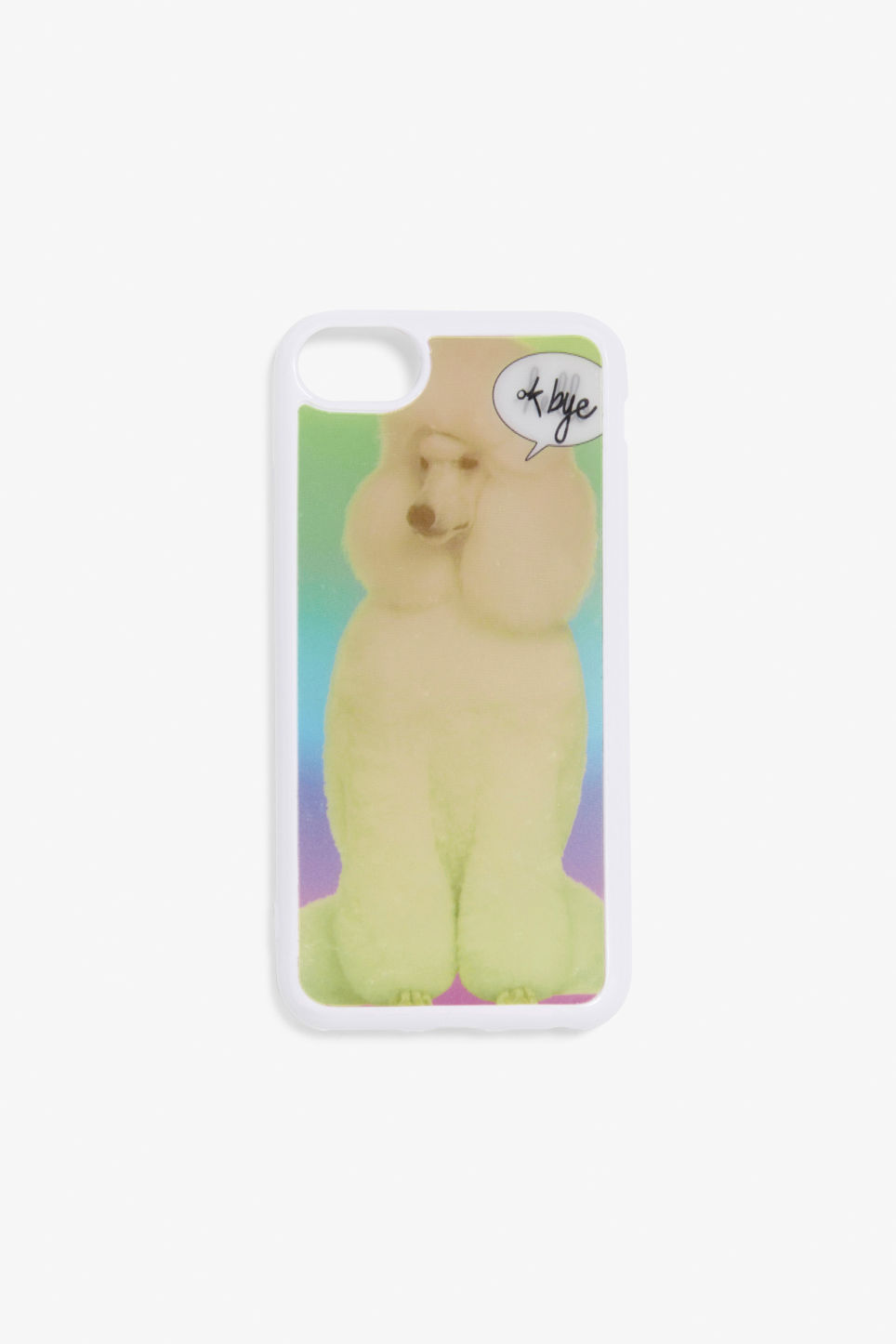 Detailed image of Monki monki phone case  in pink