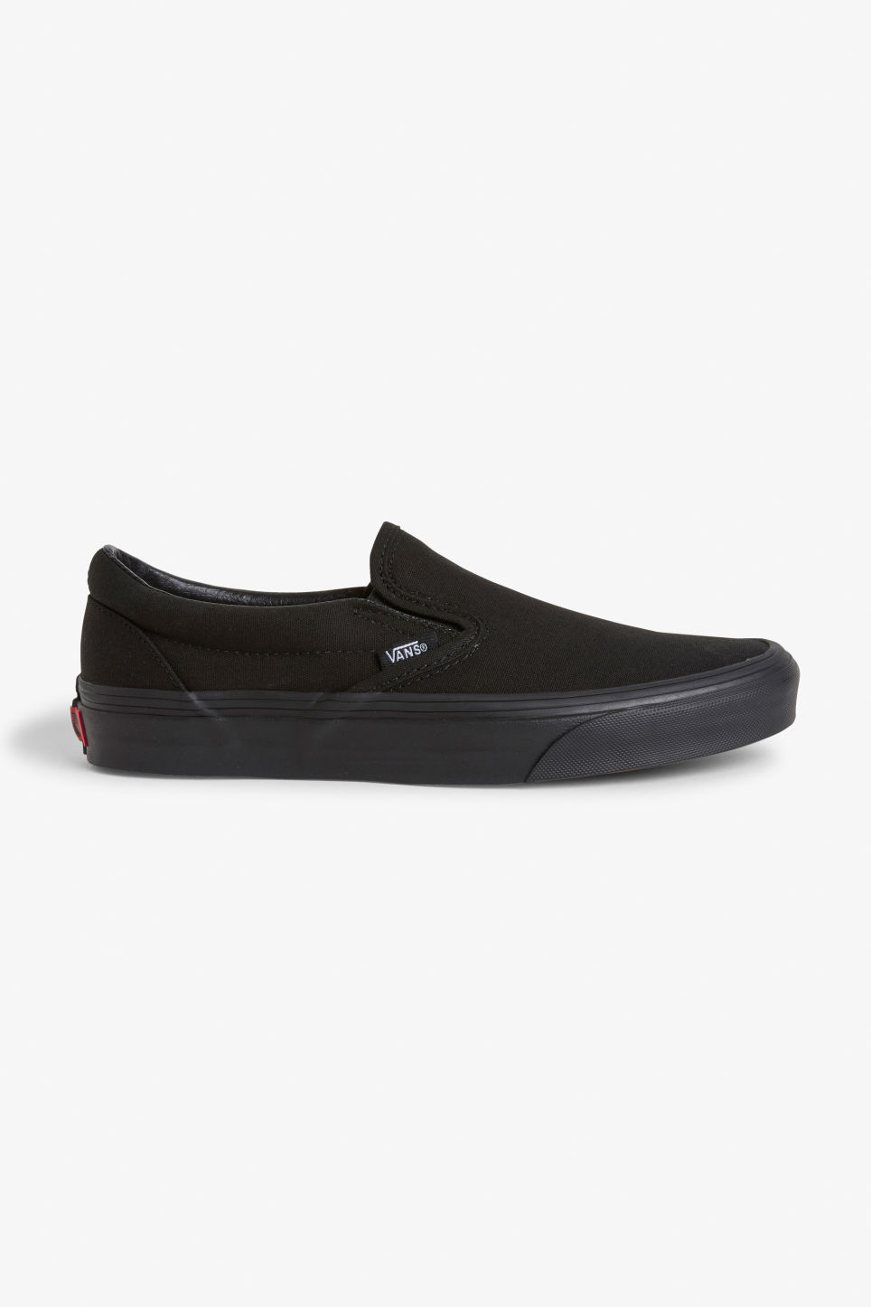 Detailed image of Monki vans slip on  in black