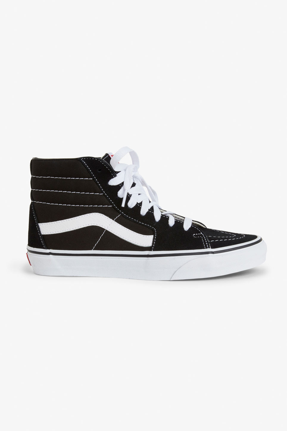 Detailed image of Monki vans sk8 hi in black